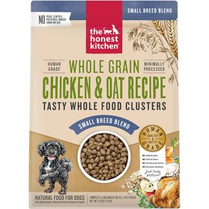 The Honest Kitchen Food Clusters Whole Grain Chicken & Oat Recipe Small Breed Dehydrated Dog Food