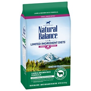 Natural Balance L.I.D. Limited Ingredient Diets Lamb & Brown Rice Formula Small Breed Dry Dog Food