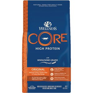 Wellness CORE Wholesome Grains Original Recipe High Protein Dry Dog Food