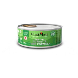 FirstMate Turkey & Rice Formula Cage-Free Canned Cat Food