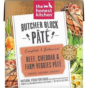The Honest Kitchen Butcher Block Pate Beef