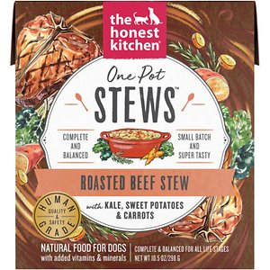 The Honest Kitchen One Pot Stews Roasted Beef Stew Wet Dog Food