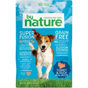 By Nature Pet Foods Grain-Free Turkey & Duck Recipe Dry Dog Food
