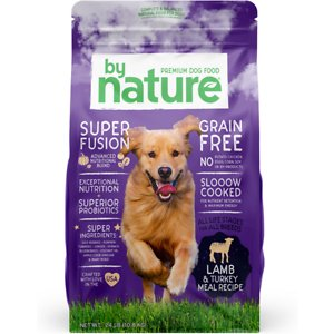 By Nature Pet Foods Grain-Free Lamb & Turkey Recipe Dry Dog Food