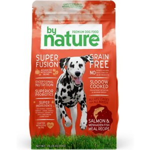 By Nature Pet Foods Grain-Free Salmon & Menhaden Fish Recipe Dry Dog Food