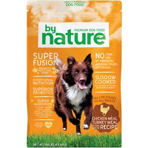 By Nature Pet Foods Chicken Meal & Turkey Meal with Brown Rice Recipe Dry Dog Food