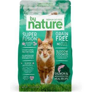 By Nature Pet Foods Salmon & Menhaden Fish Meal Recipe Grain-Free Dry Cat Food