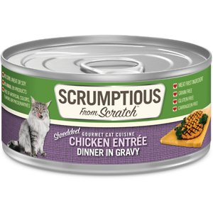 Scrumptious From Scratch Chicken Dinner In Gravy Canned Cat Food