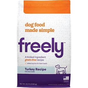 Freely Turkey Recipe Limited Ingredient Grain-Free Dry Dog Food