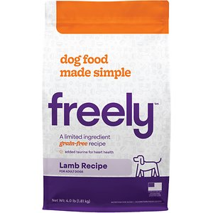 Freely Lamb Recipe Limited Ingredient Grain-Free Dry Dog Food