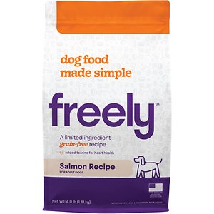 Freely Salmon Recipe Limited Ingredient Grain-Free Dry Dog Food