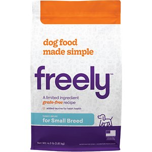 Freely Turkey Recipe Small Breeds Limited Ingredient Grain-Free Dry Dog Food