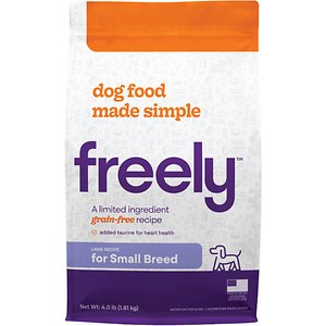 Freely Lamb Recipe Small Breeds Limited Ingredient Grain-Free Dry Dog Food