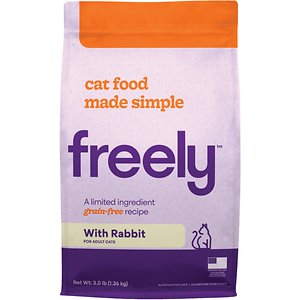 Freely Rabbit Recipe Limited Ingredient Grain-Free Dry Cat Food