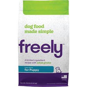 Freely Turkey Recipe Puppy Whole Grain Dry Dog Food