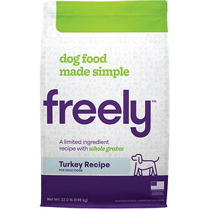 Freely Turkey Recipe Limited Ingredient Whole Grain Dry Dog Food