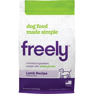 Freely Lamb Recipe Limited Ingredient Whole Grain Dry Dog Food