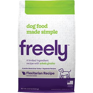 Freely Flexitarian Recipe Limited Ingredient Whole Grain Dry Dog Food