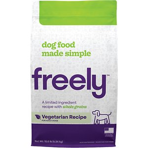 Freely Vegetarian Recipe Limited Ingredient Whole Grain Dry Dog Food