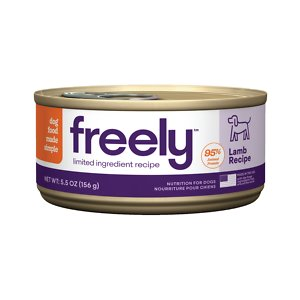 Freely Lamb Recipe Limited Ingredient Grain-Free Wet Dog Food