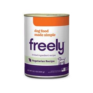 Freely Vegetarian Recipe Limited Ingredient Grain-Free Wet Dog Food