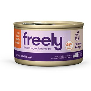 Freely Salmon Recipe Limited Ingredient Grain-Free Wet Cat Food