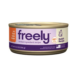 Freely Rabbit Recipe Limited Ingredient Grain-Free Wet Cat Food