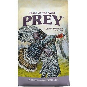 Taste of the Wild PREY Turkey Formula Limited Ingredient Recipe Dry Cat Food