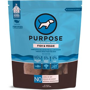 Purpose Fish & Veggie Grain-Free Freeze-Dried Dog Food