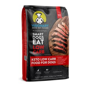 Visionary Pet Foods Keto Low Carb Beef Recipe Dry Dog Food