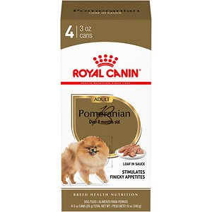 Royal Canin Pomeranian Adult Loaf in Sauce Pate Canned Wet Dog Food