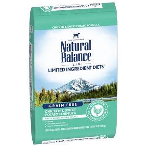 Natural Balance L.I.D. Limited Ingredient Diets Grain-Free Chicken & Sweet Potato Formula Dry Dog Food