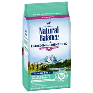 Natural Balance L.I.D. Limited Ingredient Diets Small Breed Bites Grain-Free Chicken & Sweet Potato Formula Dry Dog Food