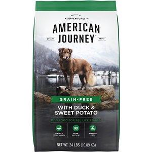 American Journey Grain-Free Dry Dog Food With Duck & Sweet Potato