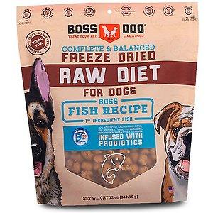 Boss Dog Fish Flavor Freeze Dried Dog Food