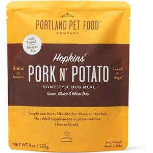 Portland Pet Food Company Hopkins' Pork N' Potato Homestyle Wet Dog Food