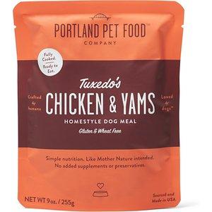 Portland Pet Food Company Tuxedo's Chicken & Yams Homestyle Wet Dog Food
