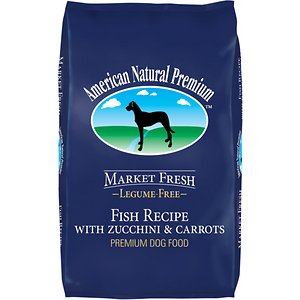 American Natural Premium Market Fresh Fish Recipe With Zucchini & Carrots Dry Dog Food