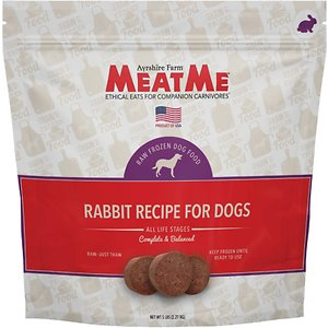 MeatMe Rabbit Recipe Frozen Dog Food