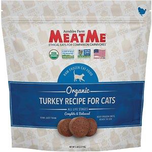 MeatMe Organic Turkey Recipe Frozen Cat Food