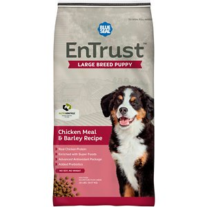 Blue Seal EnTrust Large Breed Puppy Chicken Meal & Barley Recipe Dry Dog Food