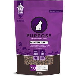 Purpose Carnivore Turkey Freeze-Dried Grain Free Raw Cat Food