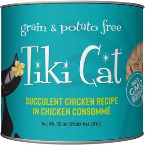Tiki Cat Luau Succulent Chicken in Chicken Consommé Grain-Free Wet Cat Food