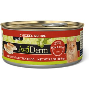 AvoDerm Natural Chicken Recipe Canned Cat Food