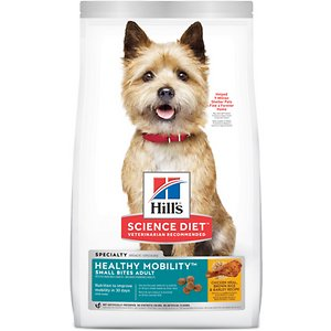 Hill's Science Diet Adult Healthy Mobility Small Bites Chicken Meal