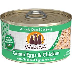 Weruva Green Eggs & Chicken with Chicken