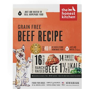 The Honest Kitchen Beef Recipe Grain-Free Dehydrated Dog Food