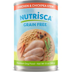 Nutrisca Grain-Free Chicken & Chickpea Stew Recipe Canned Dog Food