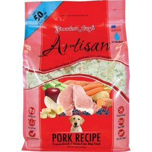 Grandma Lucy's Artisan Pork Grain-Free Freeze-Dried Dog Food