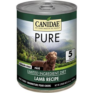 CANIDAE Grain-Free PURE Limited Ingredient Lamb Formula Canned Dog Food
